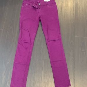 Purple gently worn Vince Camuto jeans size 25